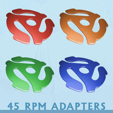 45 RPM Adapters