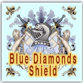 Blue Diamonds Shield