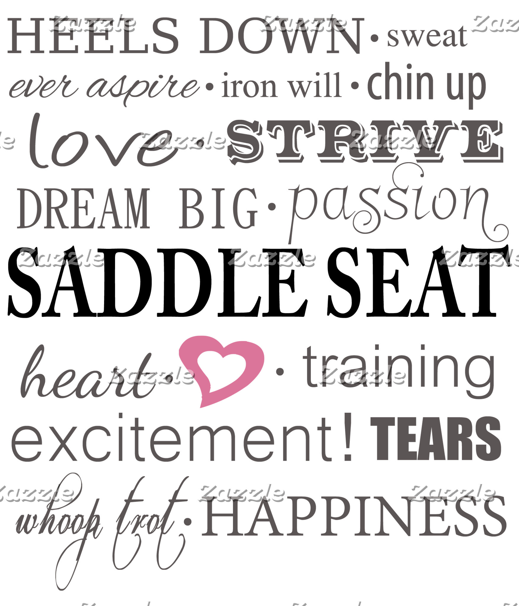 Aspects of Saddle Seat