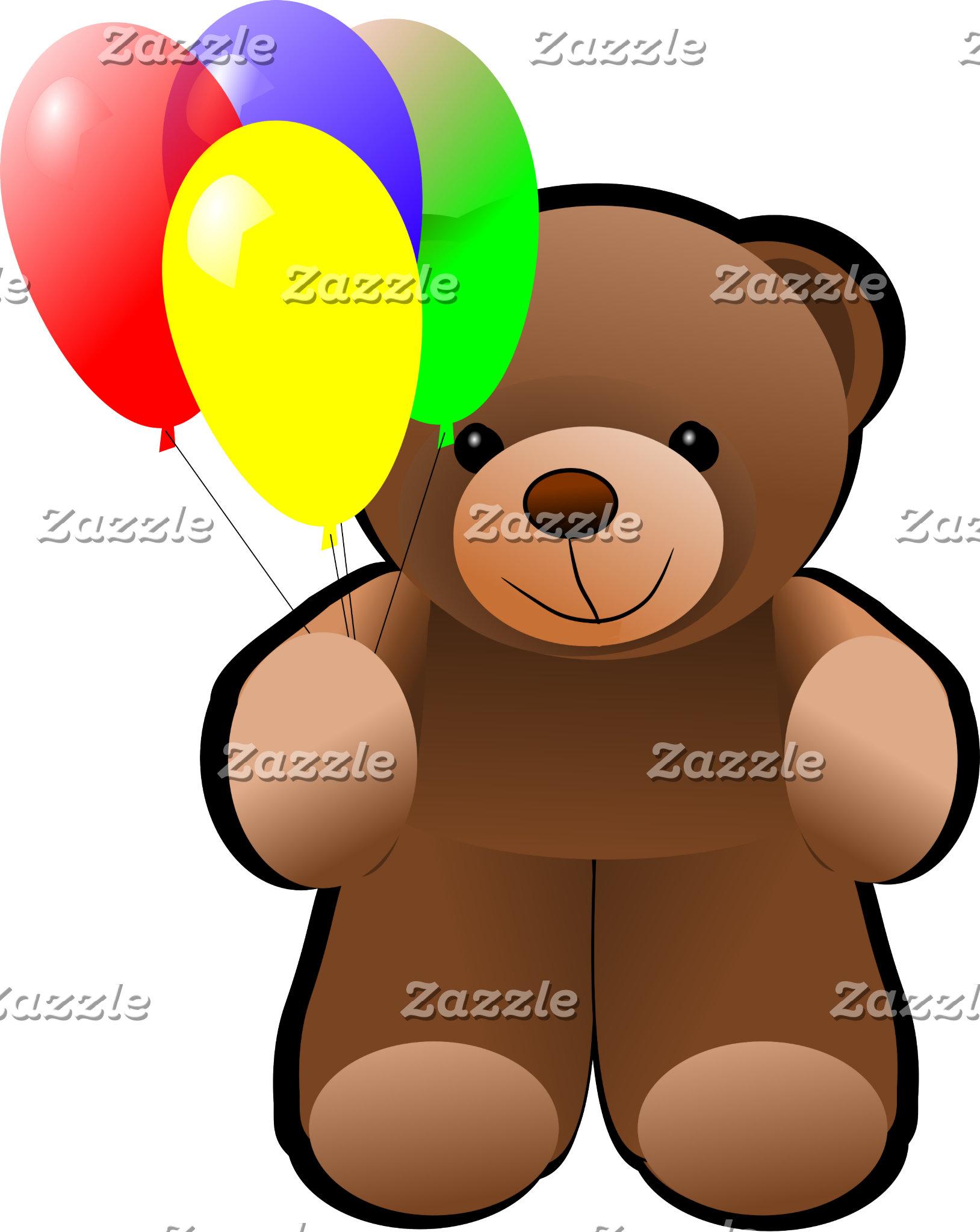 Teddy Bear Balloons
