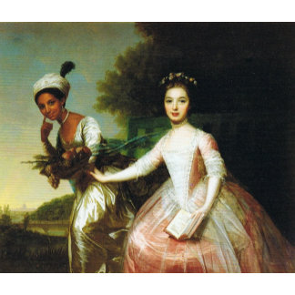 Dido Elizabeth Belle and Lady Murray