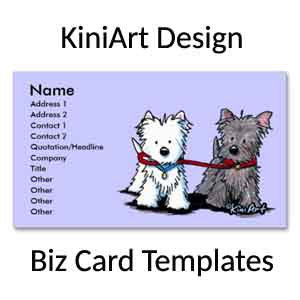 KiniArt Design Business Cards