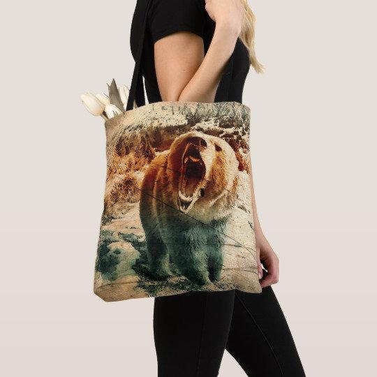Bear Tote Bags