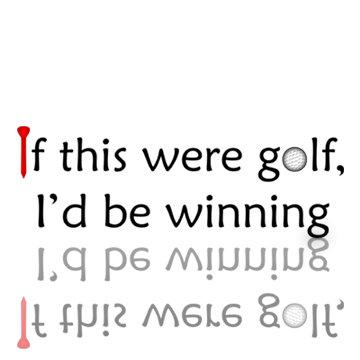 Golf Winning
