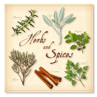 Herbs and Spices.