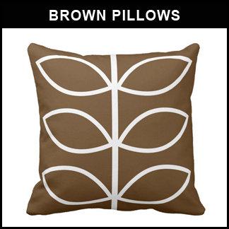 Brown Pillows