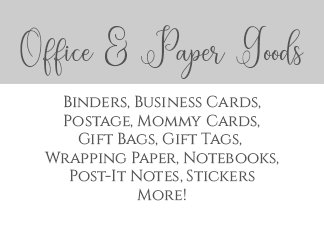 Office and Paper Goods