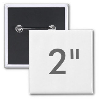 "2"" ZAZZLE Buttons SQUARE"