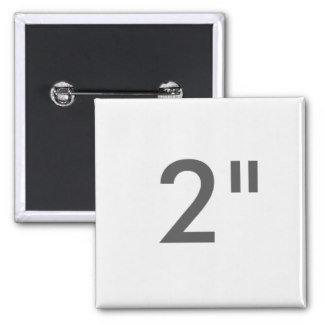 """2"""" ZAZZLE Buttons SQUARE"""