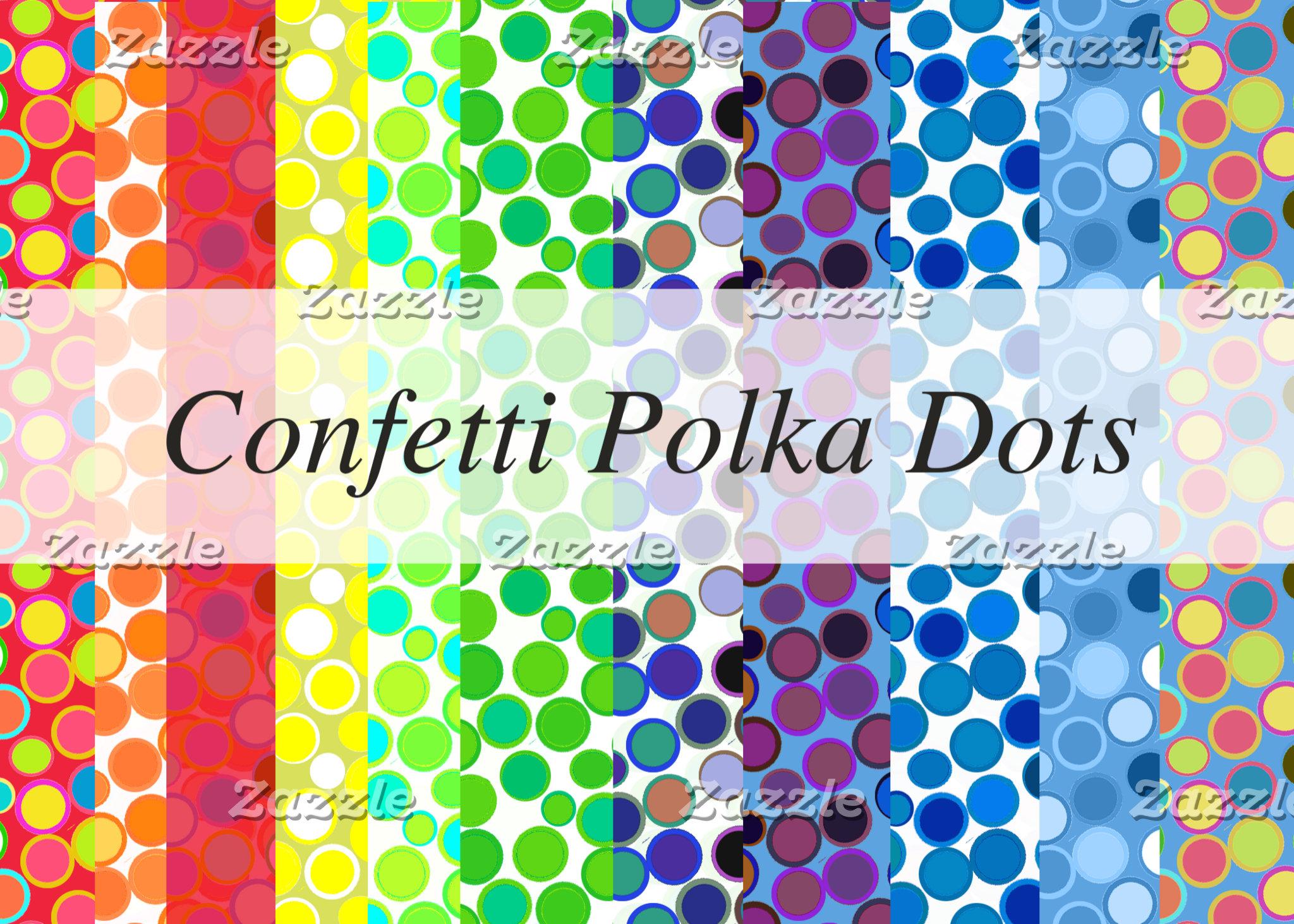 Confetti Polka Dots