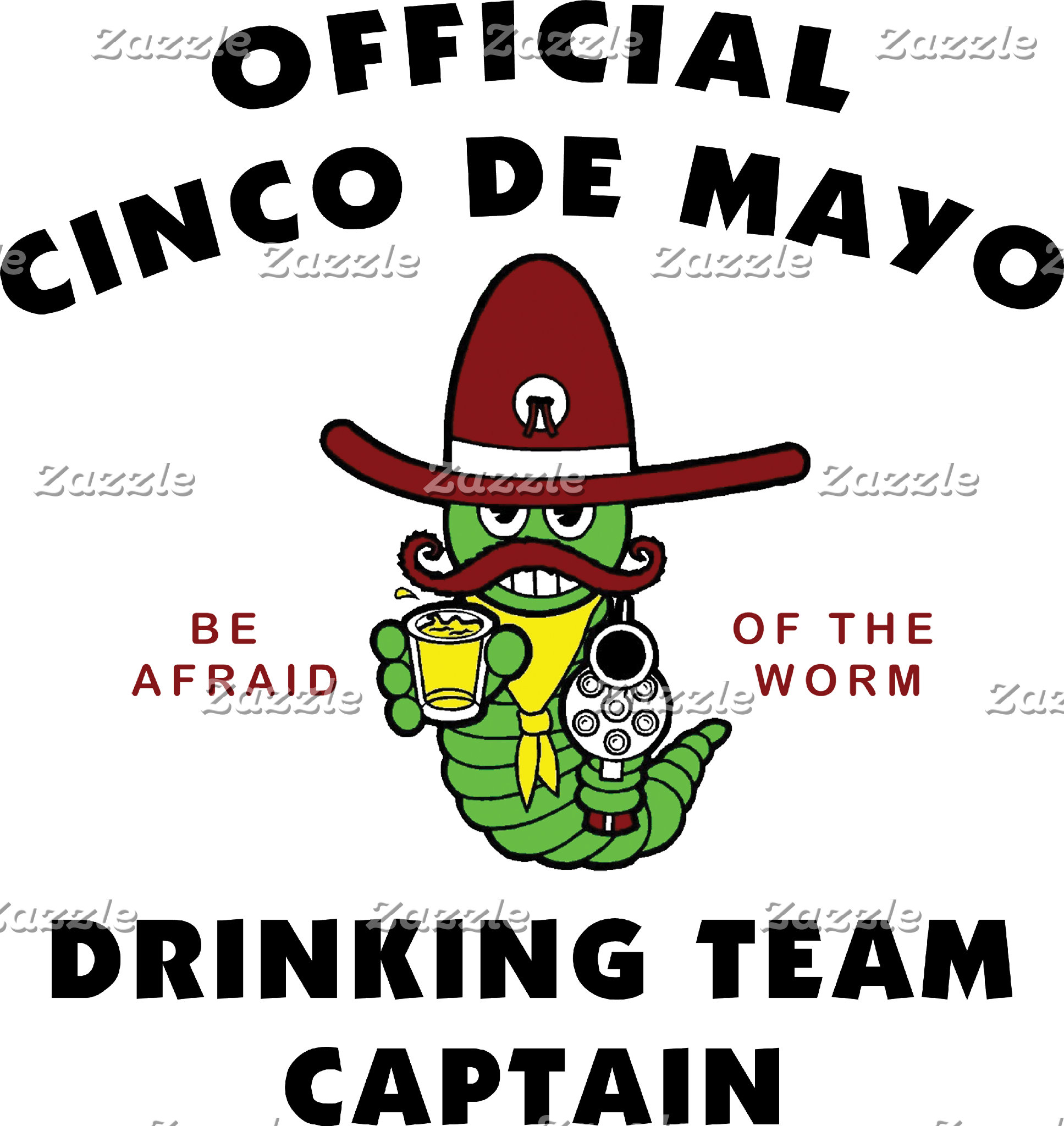 Cinco de Mayo Drinking Team Captain T-Shirt Gift