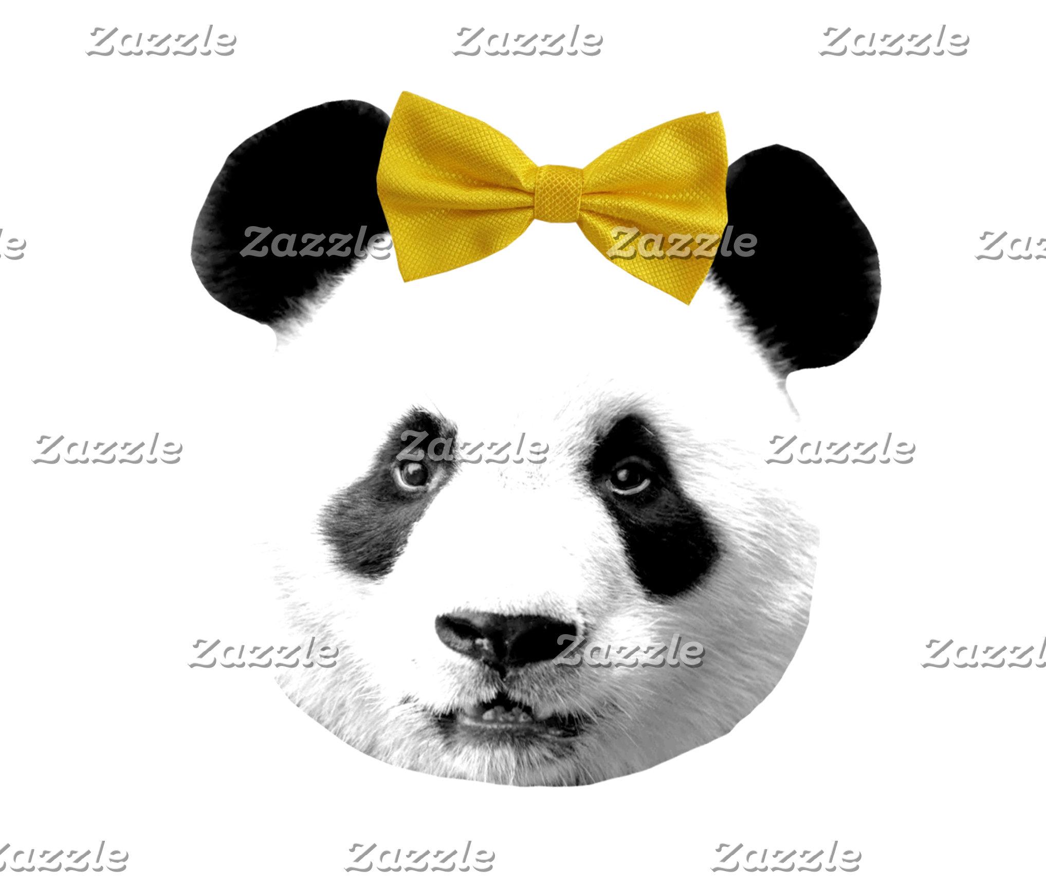 Pretty Bow Panda
