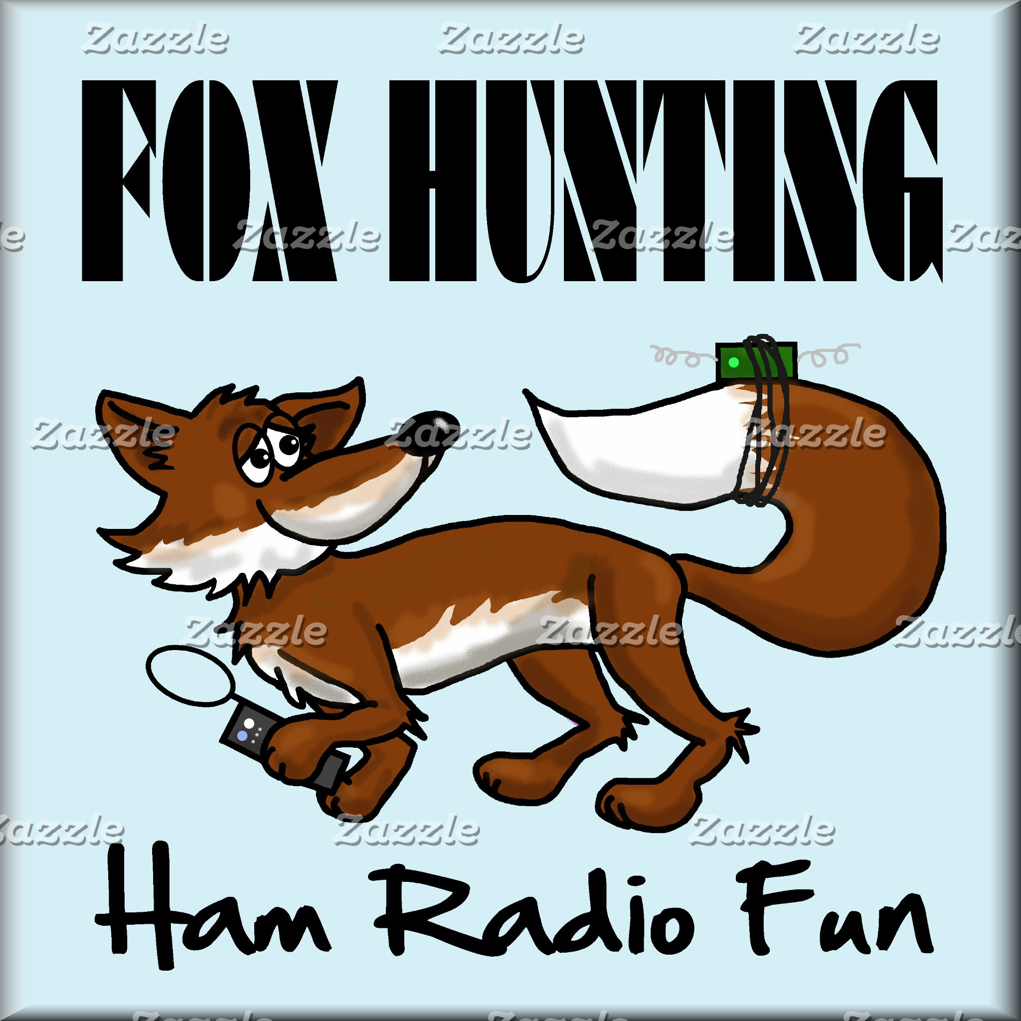FOX HUNTING  Ham Radio