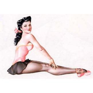Ballerina Pin-Up