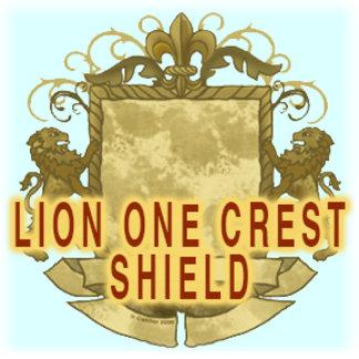 Lion Crest One Shield