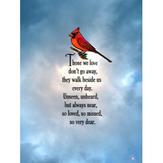 "Cardinal ""So Loved"" Poem"