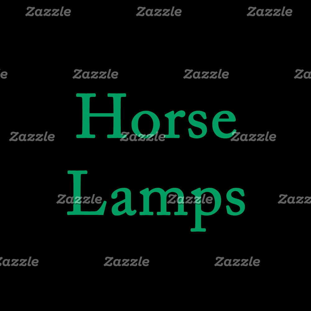 Horse Lamps