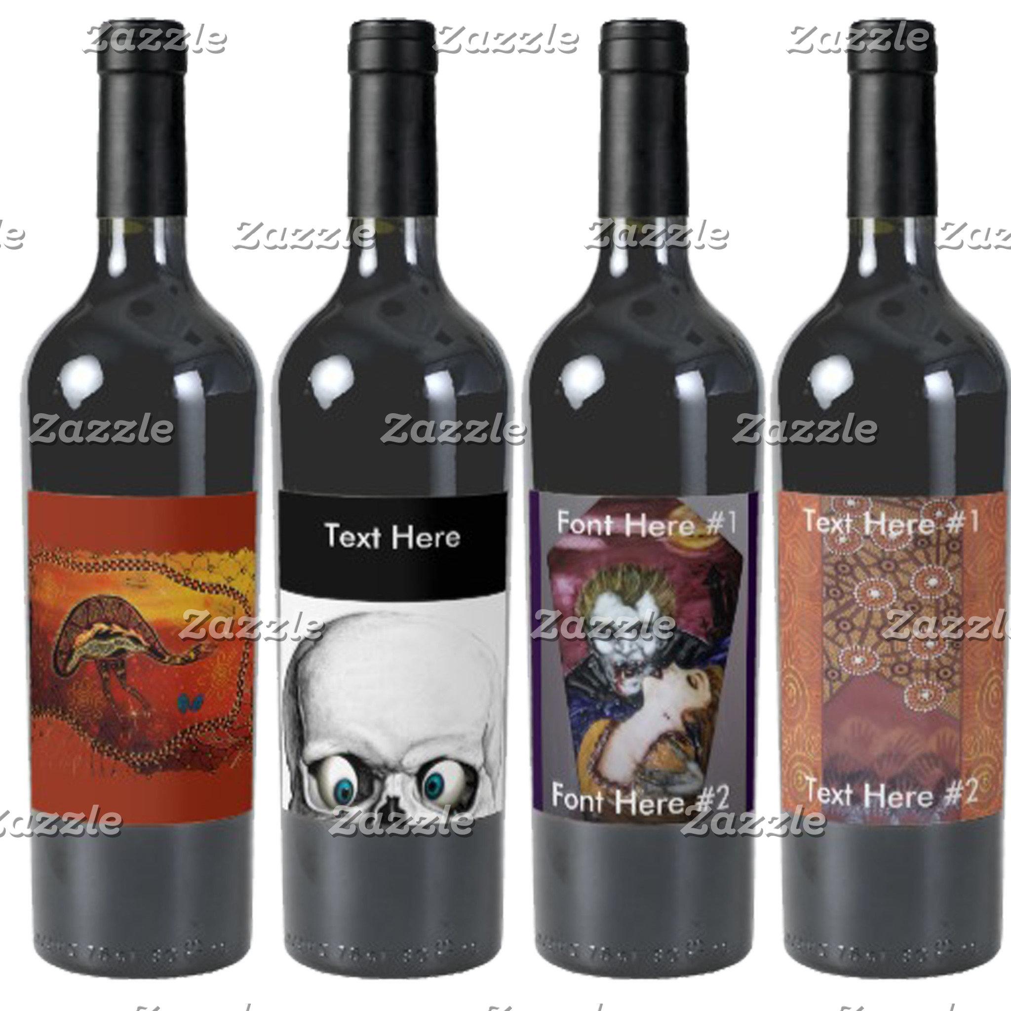 Labels Wine/Beer/Jars