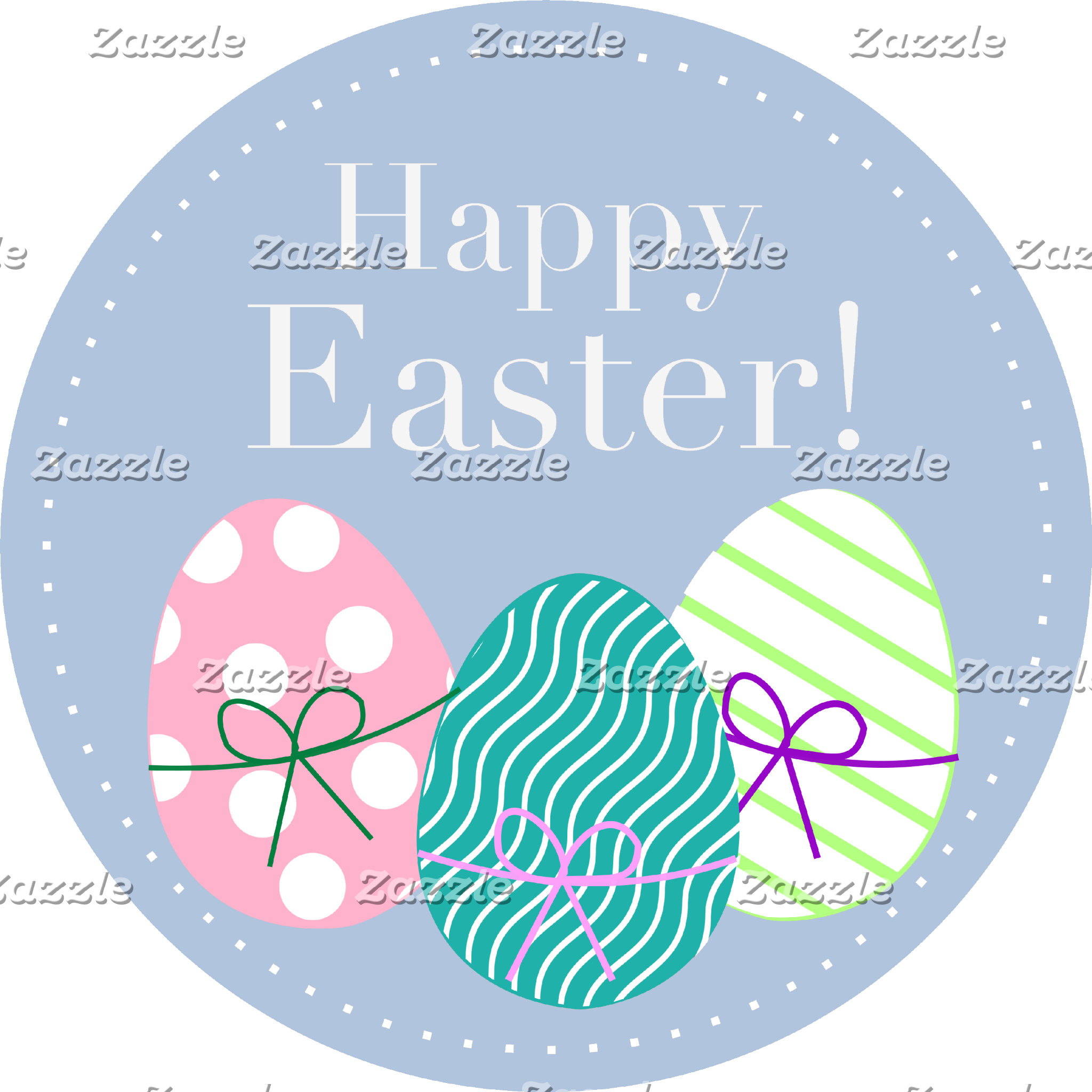 Happy Easter - Blue