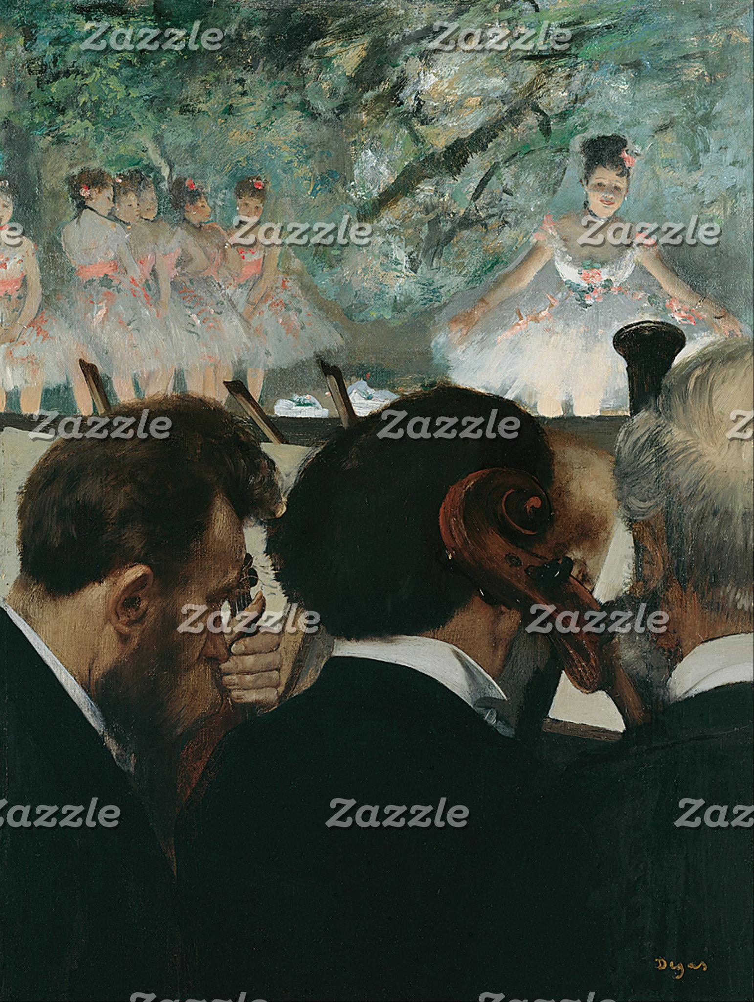 Edgar Degas   Orchestra Musicians