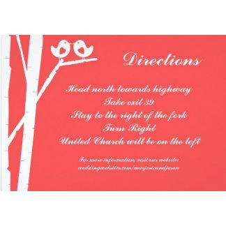 Wedding Insert Cards