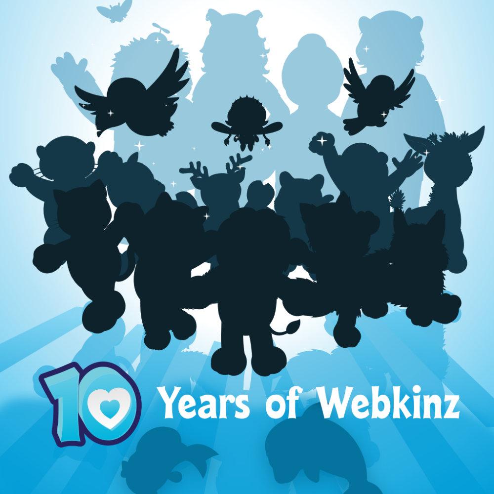 10 Years of Webkinz