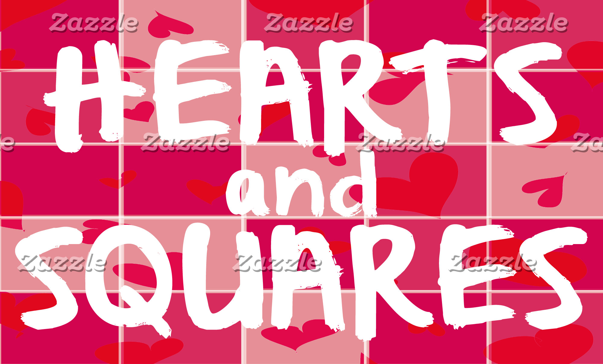 HEARTS and SQUARES