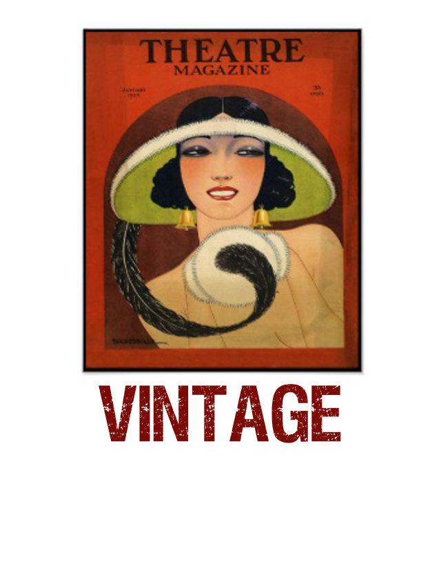 b) vintage
