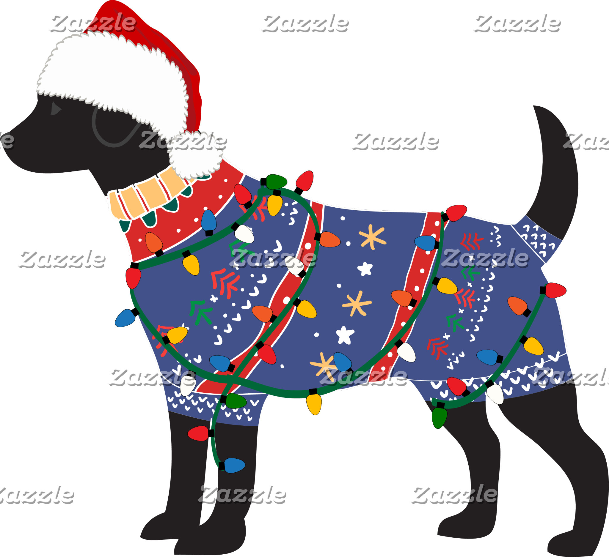 Lab Ugly Christmas Sweater