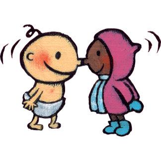 Friendly Eskimo Nose Kisses Kids