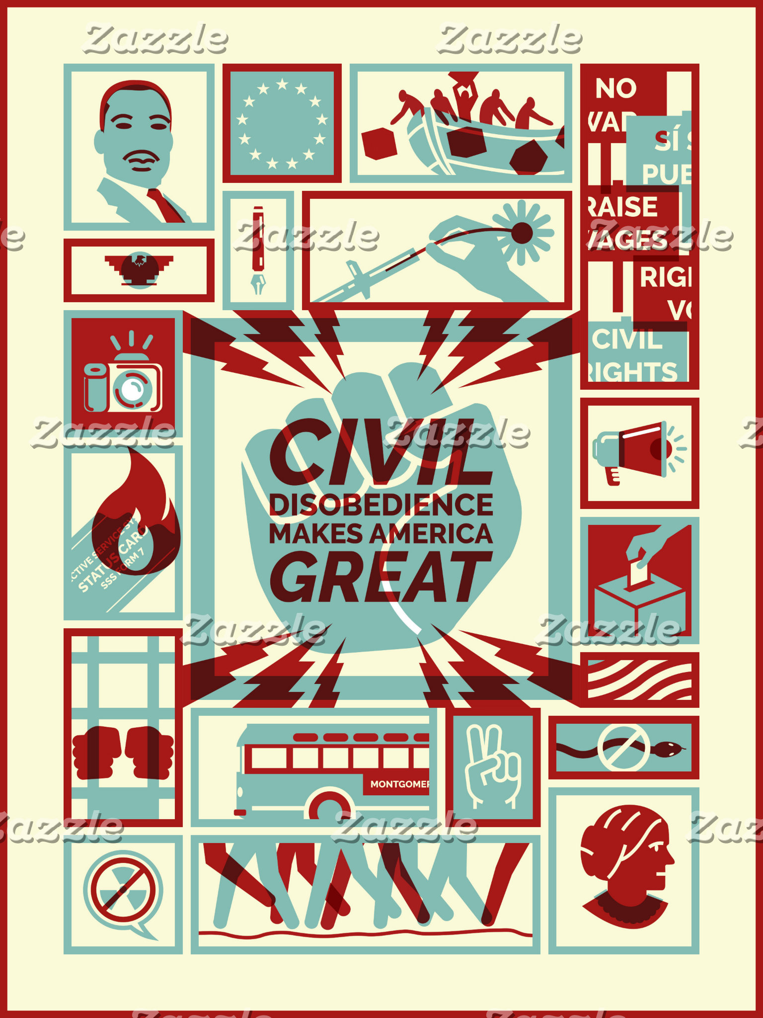 Civil Disobedience Makes America Great