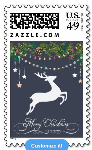 Chalkboard Christmas Cards and Postage