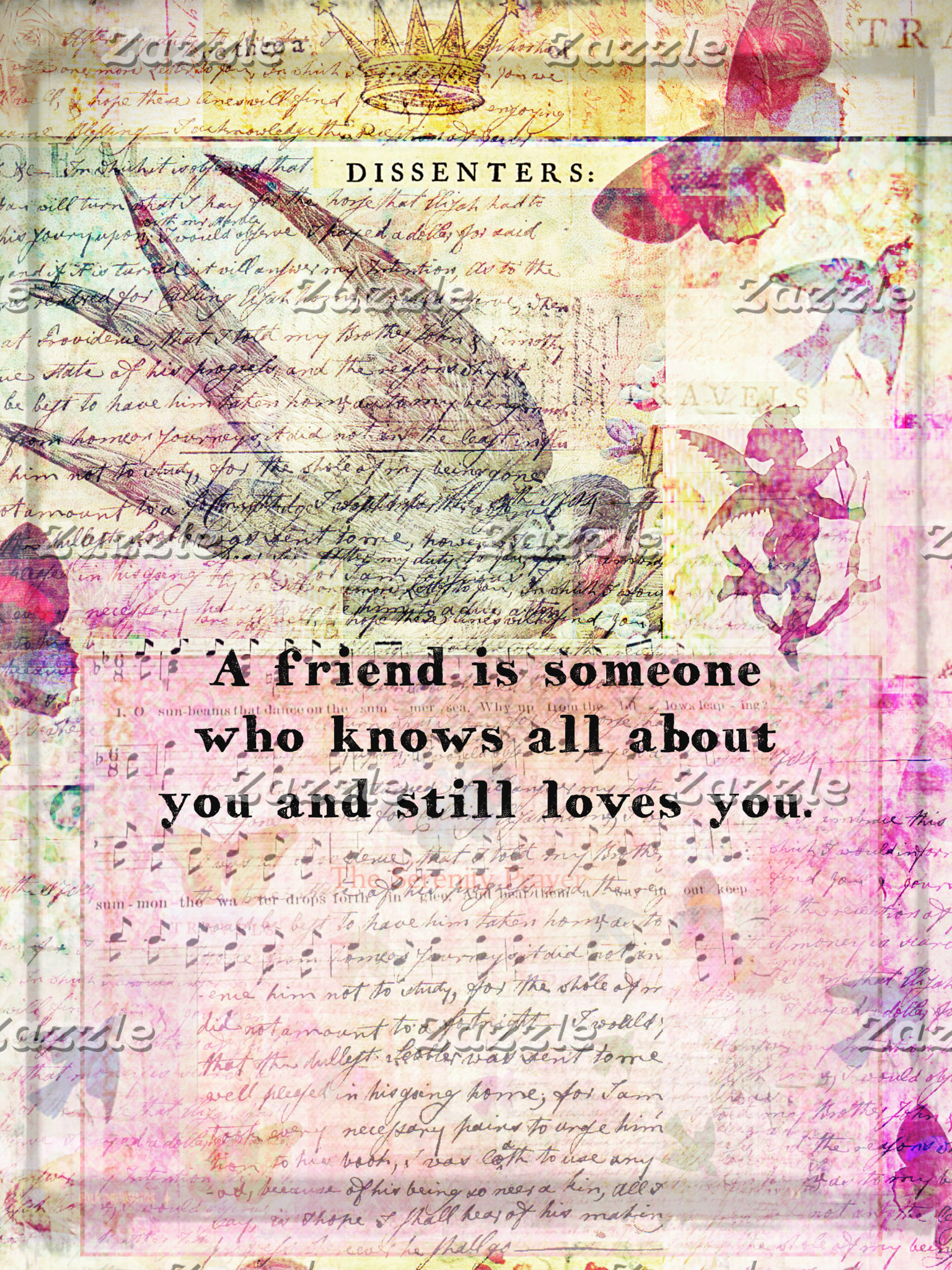 A friend is someone who knows all about you and...