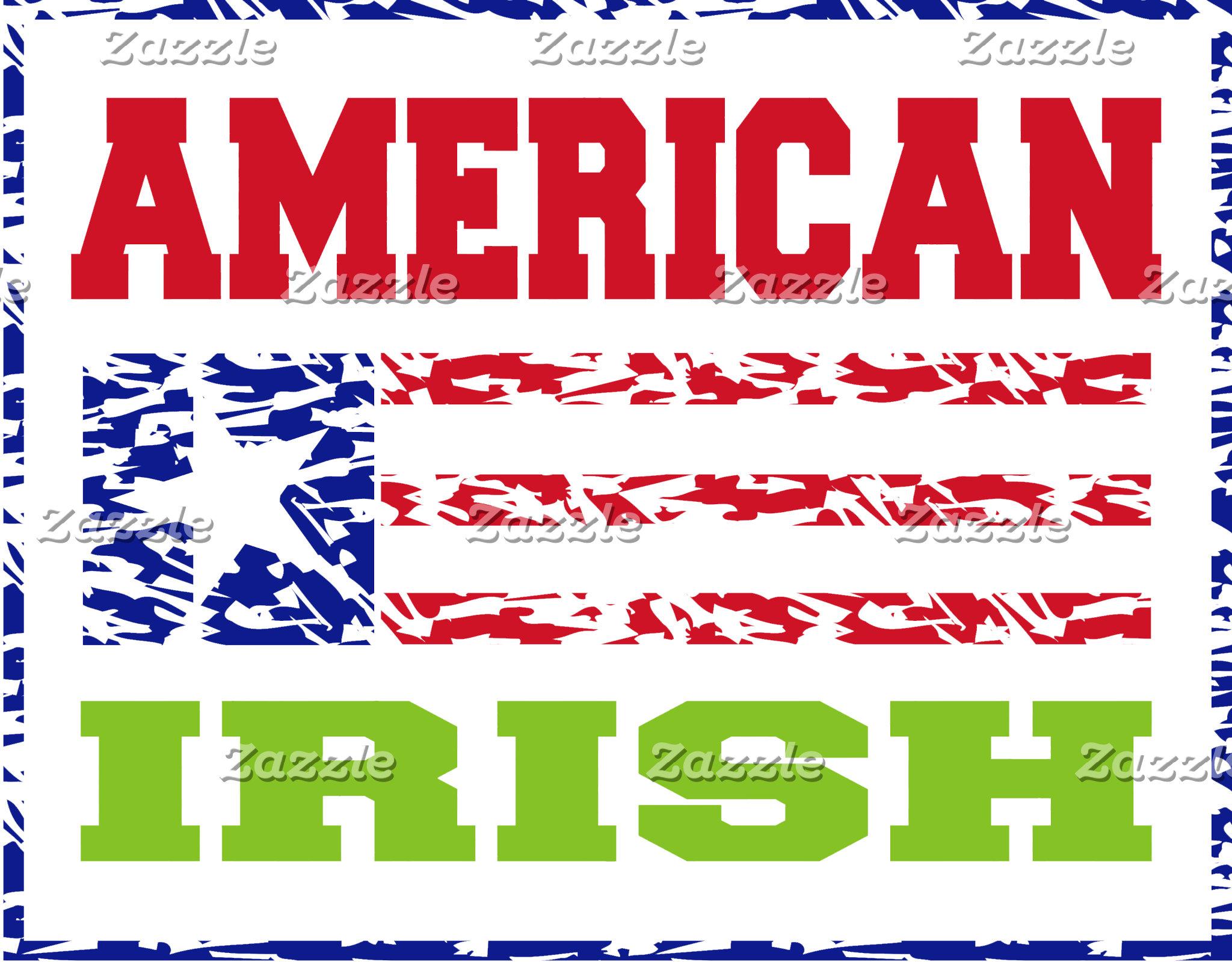 American Irish T-Shirts Gifts Cards