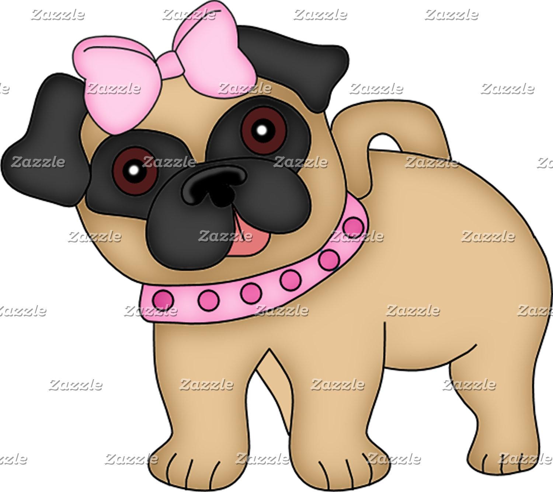 Pug Cuties Pink