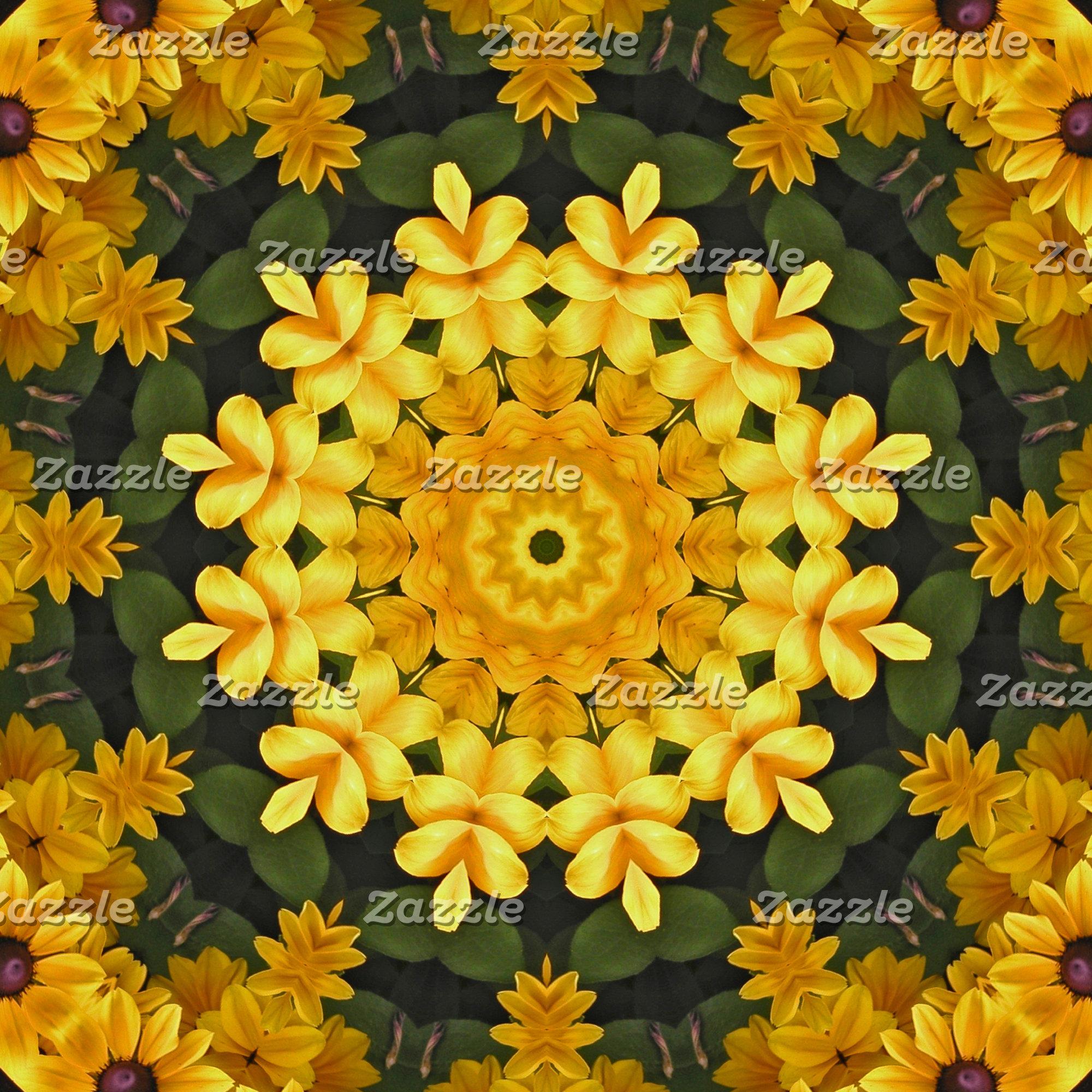 _Fall Flower Mandalas