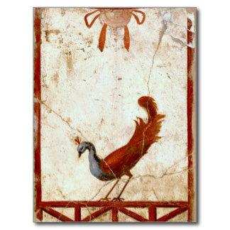 Peacock on Fresco