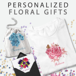 Personalized Floral Gifts
