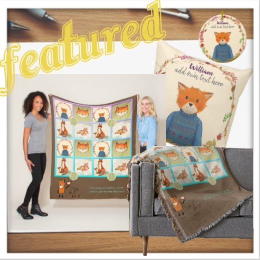 A Fox Decor & Gifts Set