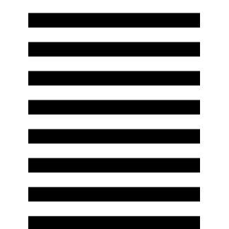 Geometric Art Black and White Stripes