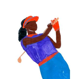 Golfer Woman