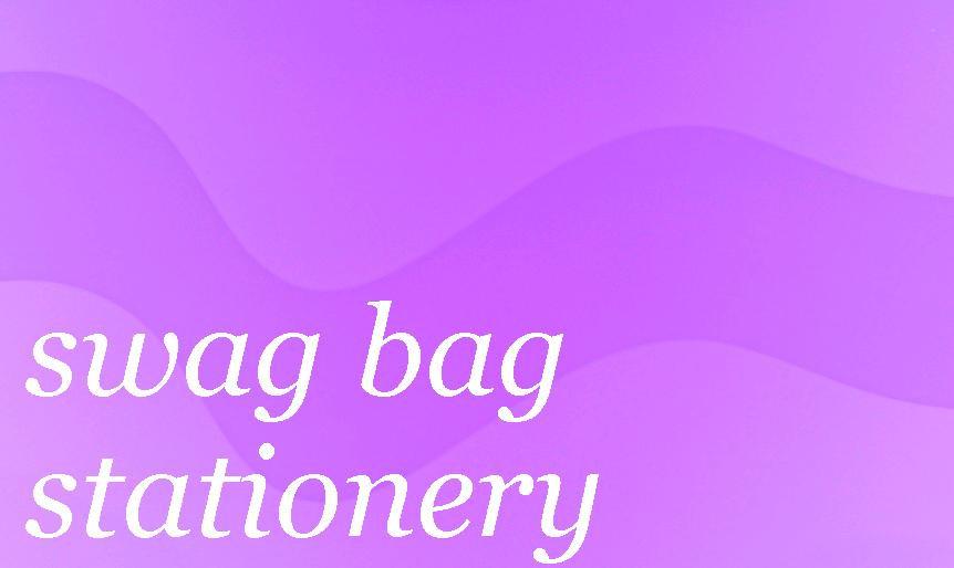 Swag Bag Stationery