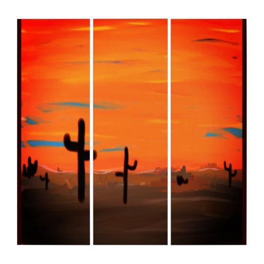 AcryliPrint HD Triptych