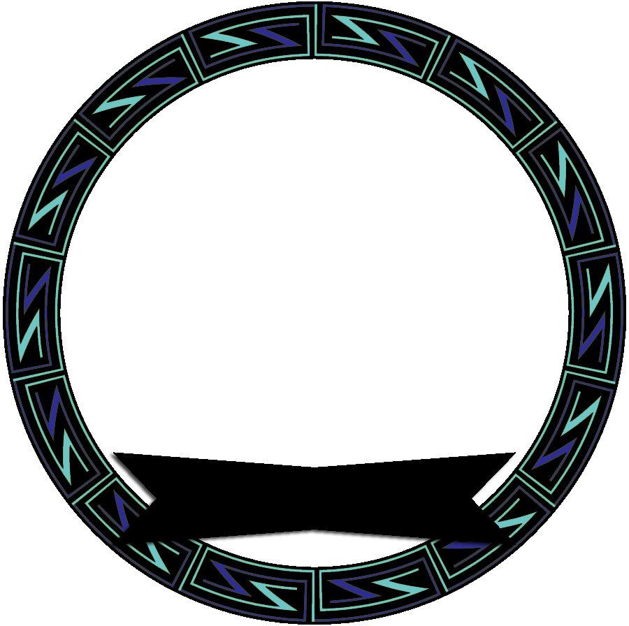 Black ZZ Pattern