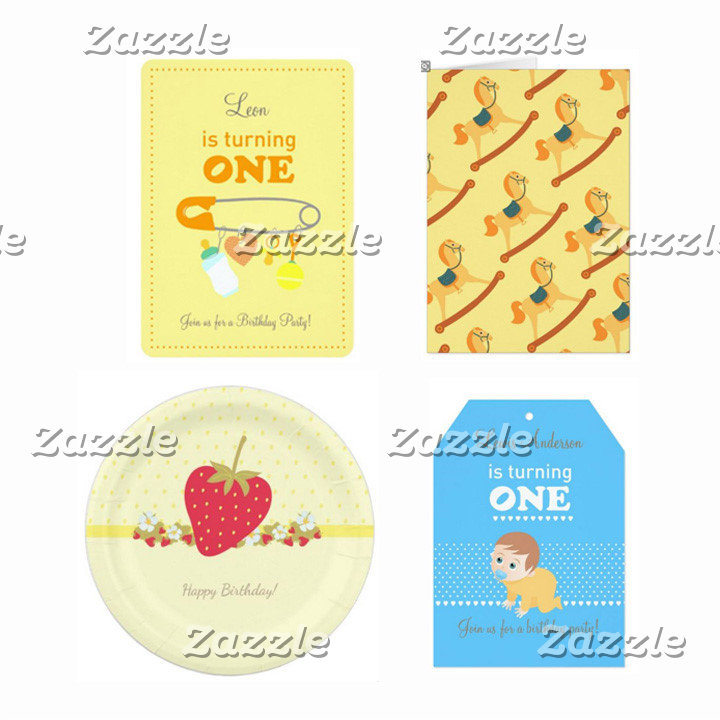 Tradicional Baby First Birthday Party Themes
