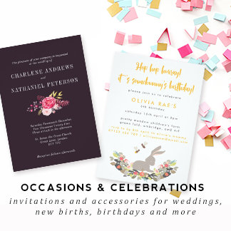 Occasions and Celebrations