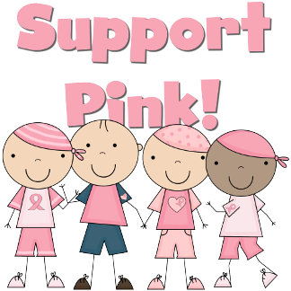 Stick Kids Support Pink