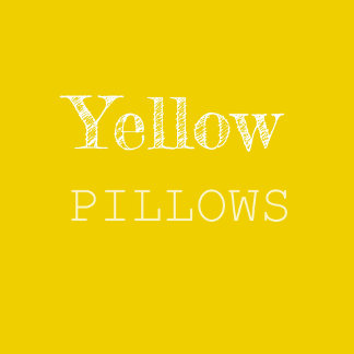 Yellow & Gold Pillows
