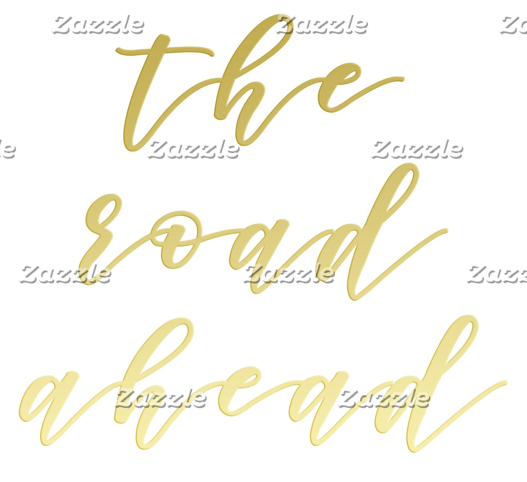 Elegant script typography