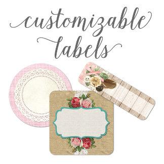 Customizable Labels